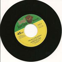 DUANE WILLIAMS - Yes my love is real  - NORTHERN SOUL - 7'' 45rpm - LISTEN!!!!!!