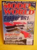 RCMW DECEMBER 2003 RC MODEL WORLD & LANGSAMFLIEGER & FAIREY FIREFLY PLANS