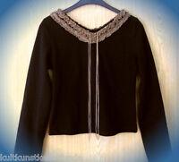 ● sinnlich schönes langarm shirt MA gothic ole M wie neu