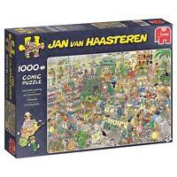 Jan Van Haasteren - 1000 Piece Jumbo Jigsaw Puzzle - The Garden Centre