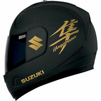 Suzuki hayabusa Aufkleber Motorrad Gold für Helm moto sticker tank decals