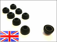 MOTOROLA ROKR S9 S10 HD BLACK LARGE REPLACEMENT EARBUDS EARTIPS EAR TIPS - 8 PC