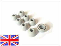 REPLACEMENT EARBUDS EARTIPS EAR TIPS FOR MOTOROLA ROKR S9 S10 HD GREY LARGE