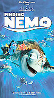 Walt Disney Pictures Pixar FINDING NEMO (VHS, 2003) - Clamshell Case