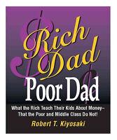 Rich Dad Poor Dad a paperback book by Robert T. Kiyosaki FREE USA SHIPPING