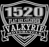 Honda Valkyrie 1520 XL Interstate NRX1800 NRX Parche bordado patch