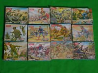 .AIRFIX 1/72 HO-OO SCALE SOLDIERS, BOXED & UNBOXED MULTI-LISTING