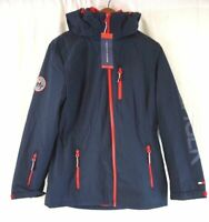 NEW TOMMY HILFIGER Women's Navy/White/Red 3-in-1 All Weather Jacket S,M,L,XL,2XL