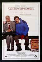 PLANES TRAINS AUTOMOBILES * 1SH ORIG MOVIE POSTER 1987