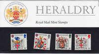QEII Presentation Pack No 150 Heraldry 1984
