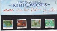 QEII Presentation Pack No 161 Composers 1985