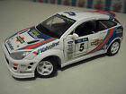 FORD FOCUS WRC RALLYE RALLY # 5 MARTINI 1/18 BURAGO voiture miniature collection