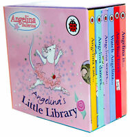 Angelina Ballerina Pocket Library 6 Board Books Set