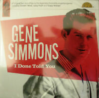 Gene Simmons - I Done Told You  (CD 2010) - 24HR POST!!!