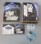 Microsoft Flight Simulator + manuel pilote PC Big Box