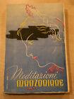 MEDITAZIONI MANZONIANE - Nicoletti - Anno 1941