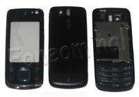 For Nokia 6600 Slide 6600S Fascia Housing Back Battery Cover Keypad Black New UK