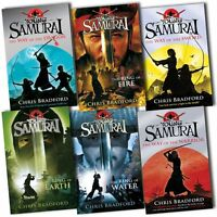 Young Samurai Collection Chris Bradford 6 Books Set Pack The Ring of Fire New PB