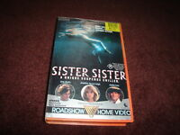 SISTER SISTER  - ERIC STOLTZ- RATED R - RARE  VIDEO VHS