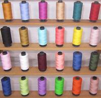 24 Sewing All Purpose 100% Pure Cotton Thread Spools *24 Colours