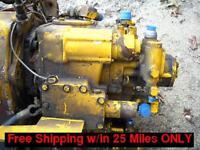 (3)Sundstrand 21 Series Hydraulic Pumps 21-2101 w/drive / Ingersoll-Rand DA-48