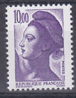 VARIETE FRANCE N° 2276a TYPE LIBERTE NEUF LUXE