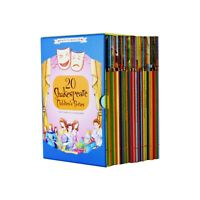 The Shakespeare Stories Collection 20 BooksGift Set - New Romeo and Juliet