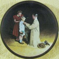 Ready for the World/ Norman Rockwell The Ones We Love Series  Collector Plate