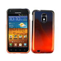 For Samsung Galaxy S II Epic Touch 4G D710 Case Orange & Black Faceplate Cover