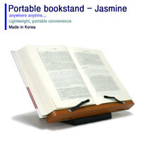 "Portable book Reading Desk Stand 15.35""X11.02"" Cookbook Desk Music Holder Jasmin"