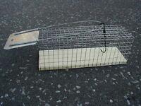 Rattenfalle als Lebendfalle Kastenfalle Tierfalle  NEU         HS-300