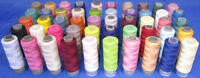 50 Spools of 100% Polyester Sewing Thread Cottons *50 Different Colours