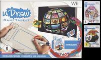NINTENDO Wii uDraw GameTablet INSTANT ARTIST DISNEY PRINZESSIN + KUNG FU PANDA 2