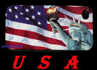 FOR IPHONE 4 4S UNITED STATE  AMERICA USA FLAG & STATUE LIBERTY HARD CASE + GIFT