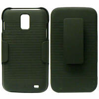 Black Adjustable Holster + Cover Case For Samsung Galaxy S 2 II Skyrocket i727