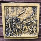 ADMIRAL LORD NELSON BATTLE OF TRAFALGAR WALL PLAQUE frost proof stone