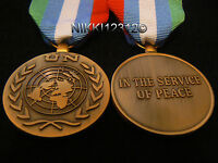 FULL SIZE BRITISH UN NATO UNITED NATIONS BOSNIA & HERZEGOVINA MEDAL (UNMIBH)