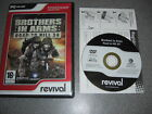 BROTHERS IN ARMS ROAD TO HILL RTH 30 Rev Pc DVD Rom FAST POST