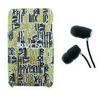 Skullcandy Riot Earbuds with 2nd/3rd Gen Touch Case New