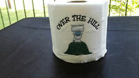 """ OVER THE HILL""  OLD GEEZERS  DAY GIFTembroidered T- PAPER  GAG GIFT"