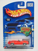 "HOT WHEELS  2002 ""70 PLYMOUTH  BARRACUDA #173 RED"