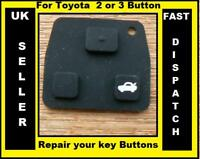 for Toyota 2 Button / 3 Button key RUBBER PAD Repair