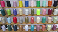 40 Large Assorted Sewing Cottons *Best Quality Polyester Thread Spools*