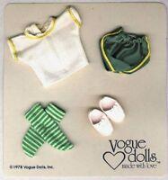 1978 Vogue GINNY Shorts Gym OUTFIT on original card