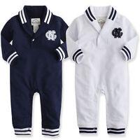 """NWT Vaenait Baby Newborn Toddler Girl Boy Jumpsuit One-Piece Outwear """"C.N Mark"""""""