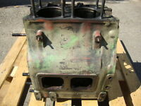 MWM Motor Motorgehäuse AKD 412 Z Luftgekühlt 2 Zylinder Traktor Schlepper