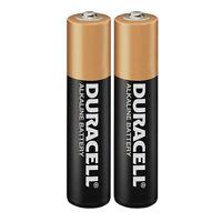2 x Duracell AAA batteries....... Alkaline Battery.. Brand New Bateries