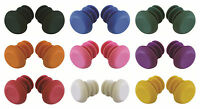 Bike / Scooter 22mm Handle Bar Rubber End Bungs various Colours Available