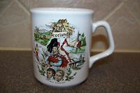 SCOTLAND Souvenir 8oz. Coffee Mug Tea Cup Ceramic Sites Scenes