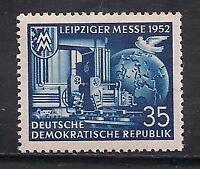 Germany Stamp- Scott # 109/A30-35pf-Mint/LH-1952-Russian Occupation
